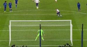 گل  اول تاتنهام به چلسی (هریکین-پنالتی)