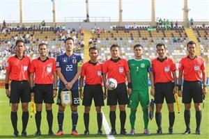 عملکرد تیم داوری ایران در بازی ژاپن-ترکمنستان