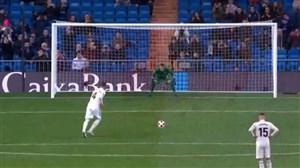 گل اول رئال مادرید به لگانس (راموس-پنالتی)