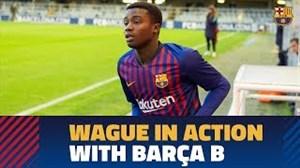 موسی واگه؛ مدافع سنگالی تیم B بارسلونا