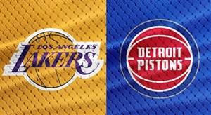 خلاصه بسکتبال لس آنجلس لیکرز - دیترویت پیستونز
