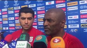 مصاحبه کروز، مربی تیم ملی در ابتدای تمرین امروز