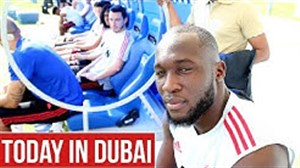 سومین روز تمرینات منچستریونایتد در دبی