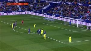 گل اول بارسلونا به لوانته (پنالتی-کوتینیو)