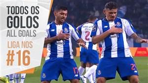 تمام گل های هفته 16 لیگ پرتغال 19-2018
