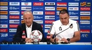 صحبت های سرمربیان در بازی های روزگذشته جام ملت های آسیا 2019