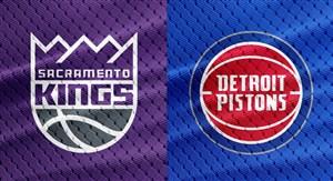 خلاصه بسکتبال ساکرامنتو کینگز - دیترویت پیستونز