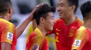 والی دیدنی وو لی؛ گل دوم چین به فیلیپین