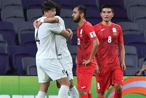 قرقیزستان صفر- کره جنوبی یک؛ 6 امتیاز بدون سون