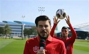 شیطنتهای بازیکنان پرسپولیس در اردوی قطر