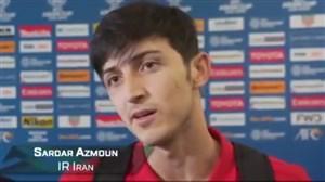 مصاحبه AFC با سردار آزمون پس از دبل مقابل ویتنام
