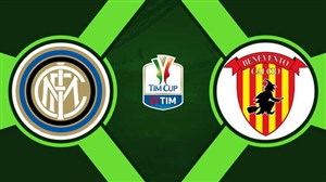 خلاصه بازی اینتر 6 -  بنونتو 2 (کوپا ایتالیا)