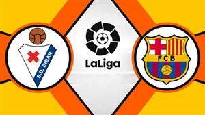 خلاصه بازی بارسلونا 3 -ایبار 0