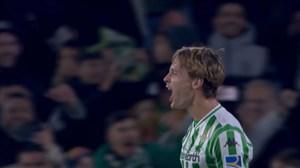 گل اول بتیس به رئال مادرید (سرجیو کانالس)