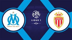 خلاصه بازی مارسی 1 - موناکو 1