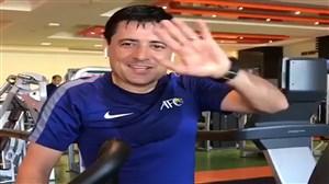 آرزوی موفقیت علیرضا فغانی برای تیم ملی ایران
