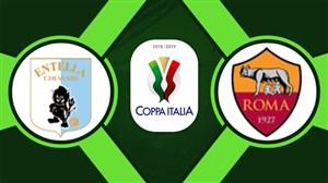 خلاصهبازی آاس رم 4 - انتلا 0 (کوپا ایتالیا)