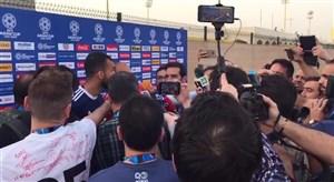 اختصاصی ورزش سه؛بی نظمی عجیب خبرنگاران در مصاحبه های ابتدای تمرین تیم ملی