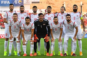 اعلام ترکیب تیم ملی سوریه مقابل ایران