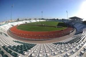 وضعیت چمن ورزشگاه آلمکتوم میزبان بازی ایران-عراق
