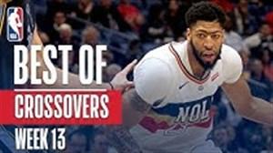 برترین کراس اوور های هفته 13 بسکتبال NBA