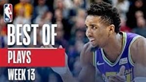 حرکت های برتر هفته 13 بسکتبال NBA