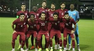 امیدهای قطر صدرنشین تورنمنت چهار جانبه دوحه