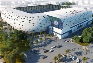 استادیوم آلمکتوم ؛ استادیوم دیدار ایران و عراق