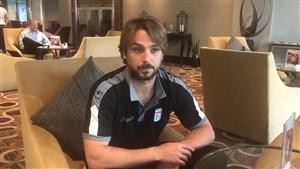 آرزوی موفقیت نیکو کرانچار برای تیم ملی فوتبال ایران