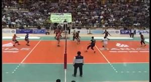 خلاصه والیبال شهرداری گنبد 2 - سایپا 3