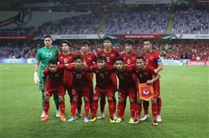 معرفی ۱۱ بازیکن اردن و ویتنام