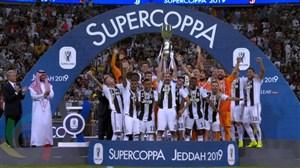 مراسم اهدای سوپر کاپ ایتالیا به یوونتوس