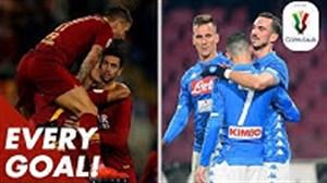 تمام گلهای رقابت های کوپا ایتالیا 19-2018