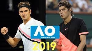 خلاصه تنیس راجر فدرر - تیلر فریتز (تنیس اپن استرالیا)