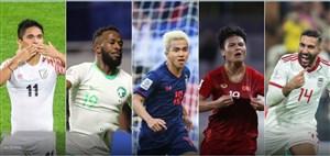 5 گل برتر مرحله گروهی جام ملتهای آسیا 2019 از نگاه AFC