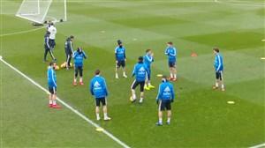 تمرینات امروز بازیکنان رئال مادرید (28-10-97)