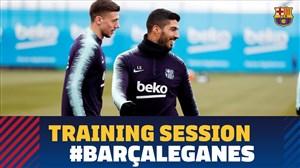 تمرین امروز تیم بارسلونا (28-10-97)