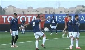 شروع تمرینات تیم ملی برای تقابل با عمان