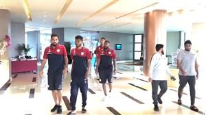 تصاویر اختصاصی از تیم عمان مستقر در هتل روتانا پارک-ابوظبی