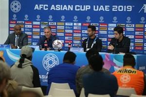 کنفرانس خبری کی روش و شجاعی قبل از بازی با عمان