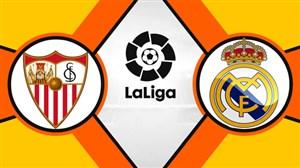 خلاصه بازی رئال مادرید 2- سویا 0