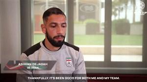 مصاحبه AFC با اشکان دژاگه پیش از بازی عمان