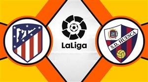 خلاصه بازی اوئسکا 0 - اتلتیکومادرید 3