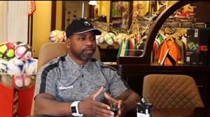گفتگو با بازیکن پیشکسوت تیم ملی امارات