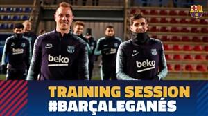 تمرین امروز تیم بارسلونا (30-10-97)