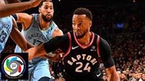 خلاصه بسکتبال تورنتو رپترز - ممفیس گریزلیز