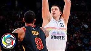 خلاصه بسکتبال کلیولند کاوالیرز - دنور ناگتس
