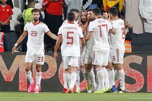 خلاصه بازی ایران 2 - عمان 0   ( گزارشانگلیسی)