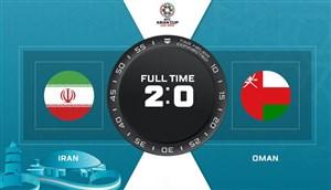 خلاصه بازی ایران 2 - عمان 0    (گزارشانگلیسی)