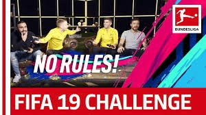 چالش بازی فیفا 19 بازیکنان دورتموند